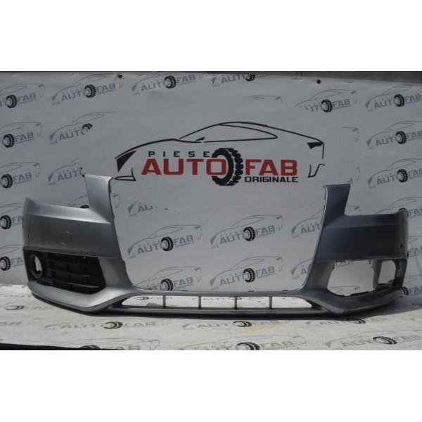 Bară față Audi A4 B8 an 2008-2012 Găuri pentru 4 senzori