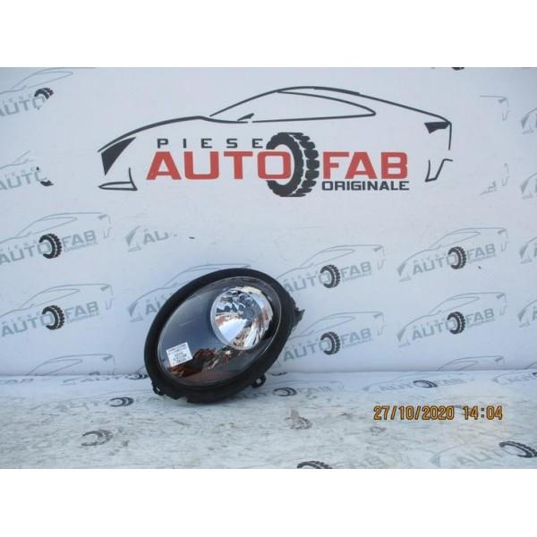 Far stanga Mini Cooper F55-F56-F57 - semnalizare portocalie an 2014-2015-2016-2017-2018