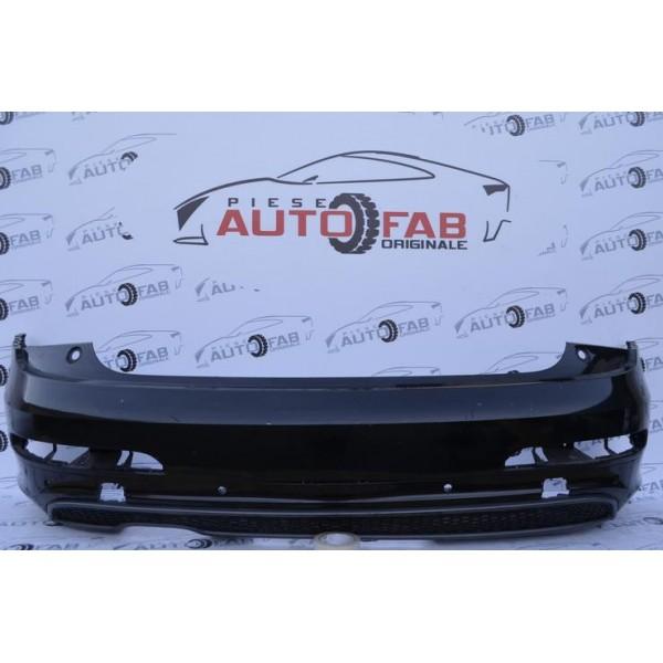 Bară spate Audi Q3 8U S-line an 2011-2014 găuri pentru 6 senzori