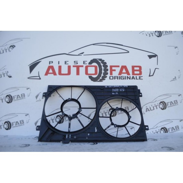 Suport electroventilator Volkswagen Golf, Passat, CC, Jetta, Skoda Superb, Octavia, Seat Leon, Audi A3, TT an 2009-2015 COD 1K1121207B