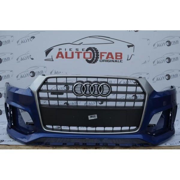Bară față Audi RS Q3 an 2015-2017 găuri pentru parktronic