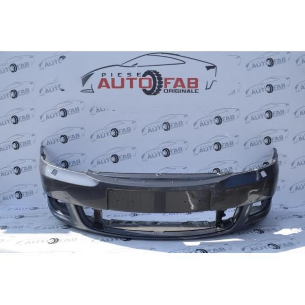 Bară față Skoda Octavia 2 Facelift an 2008-2013 cu găuri pentru spălătoare faruri