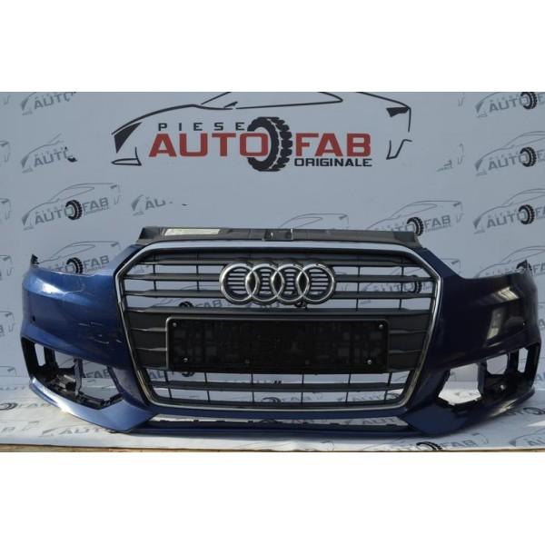 Bară față Audi A1 8X Facelift an 2015-2018 găuri pentru parktronic