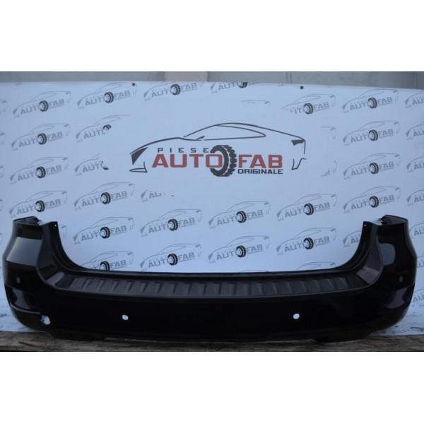 Bară spate Hyundai Santa FE an 2006-2012 cu găuri pentru parktronic