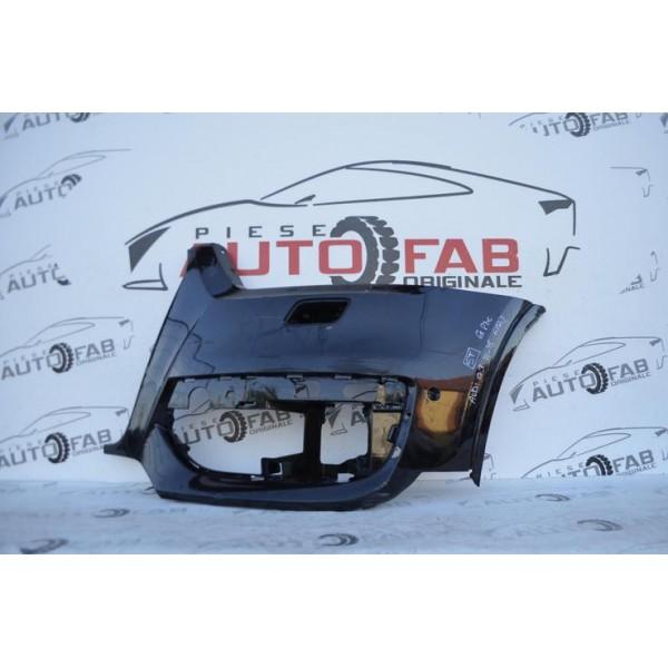 Flaps stânga față Audi Q3 8U an 2011-2015 cu găuri pentru Parktronic şi spălătoare faruri (6 senzori)