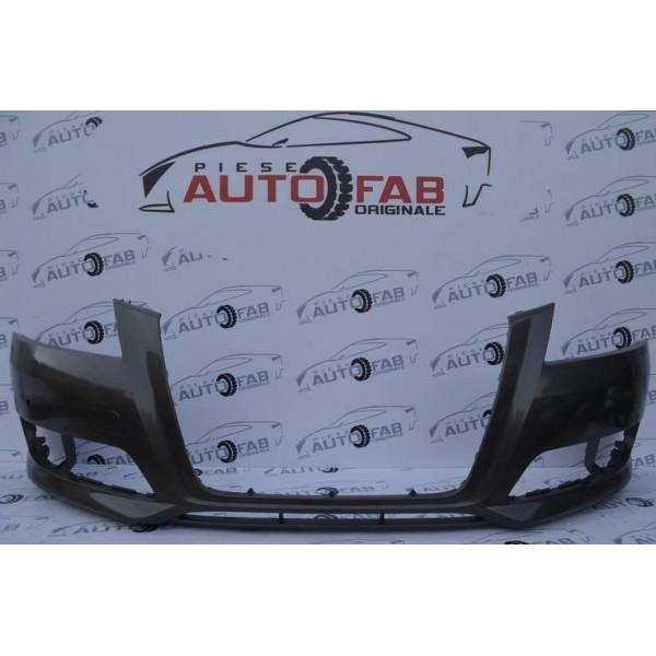 Bară față Audi A3 8P Facelift an 2008-2012 găuri pentru parktronic