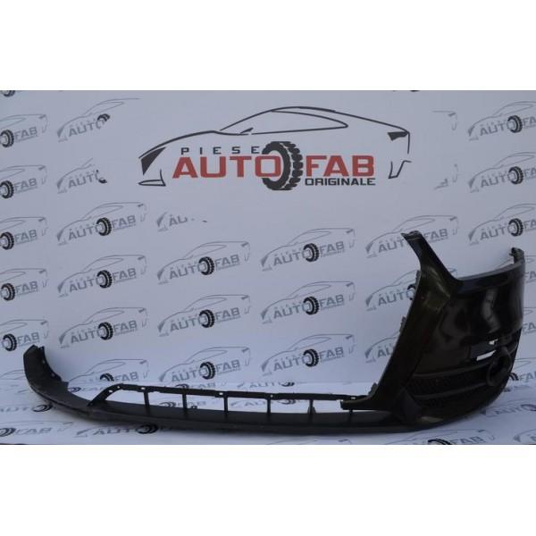 Bară față Audi Q3 8U an 2011-2014 găuri pentru spălătoare faruri