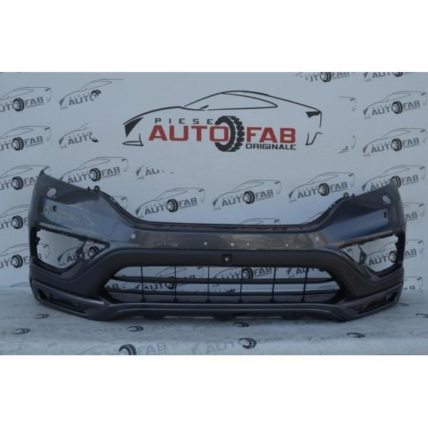 Bară față Honda CR-V Aero pack an 2013-2015 cu găuri pentru Parktronic şi spălătoare faruri
